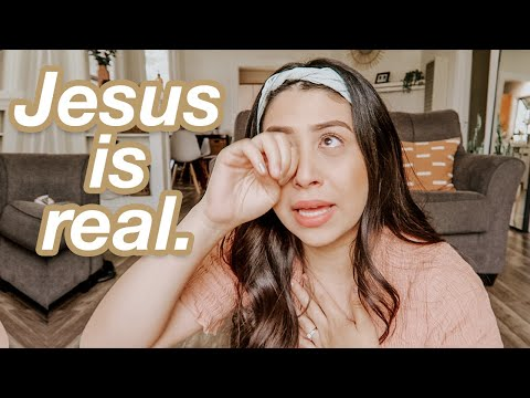 How I Know God is REAL... my encounter with Jesus