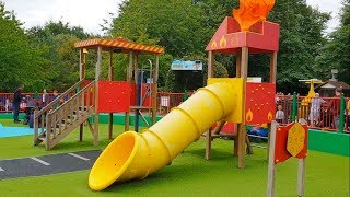 Fun Outdoor Playground For Kids with Slides - Entertainment for Children