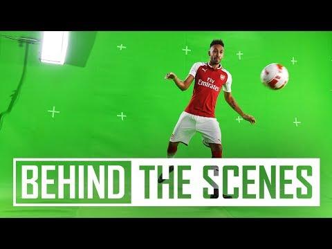 Pierre-Emerick Aubameyang reunites with Henrikh Mkhitaryan   Behind the scenes