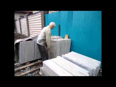 видео: Как построить дом своими руками.Изготовление плит.