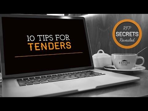 Top 10 Tips for Tenders