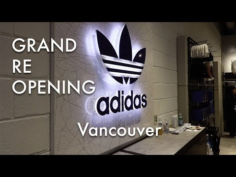 ADIDAS ORIGINALS VANCOUVER GRAND RE-OPENING - SNEAKERPHILES VLOG.0