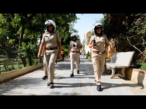 Shaking up the force, India's female cops vow to protect women
