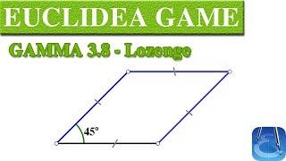 Euclidea 3 8 Gamma 8 Lozenge Online Courses Math Games Math Garden