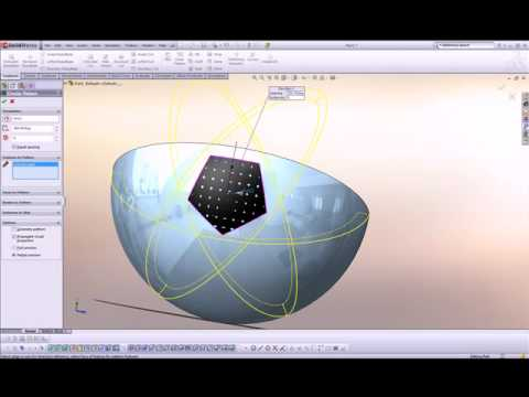 Solidworks tutorial design football youtube for Interior design 7 0 tutorial