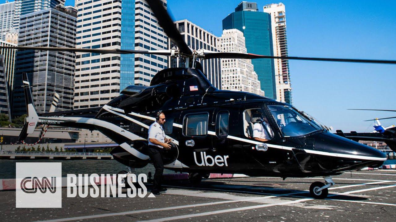Uber начала перевозить людей на вертолетах. Сколько стоит такой полет?