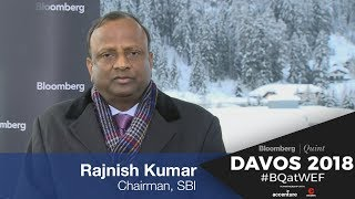 Rajnish Kumar At WEF 2018: See RBI Rates Stable For At Least A Year