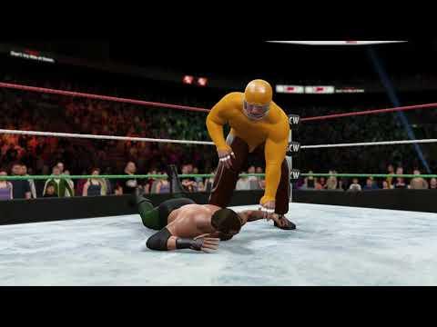 WWE 2K16 GCW World Title: Matt D. vs. Yosef