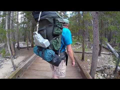 UpCountry Offroad Yosemite Backpacking Trip Day 1 and 2
