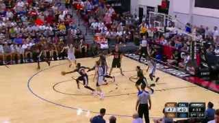 Cleanthony Early Drops the Hammer on Ivan Johnson!