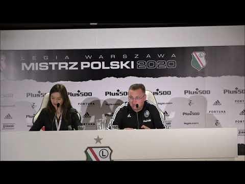 Konferencja prasowa z Czesławem Michniewiczem przed meczem z Dritą