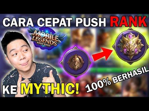 100% LANGSUNG BISA KE RANK MYTHIC PAKAI CARA INI! | Mobile Legends Indonesia