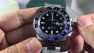 Rolex GMT Master II 116710BLNR Review/Overview