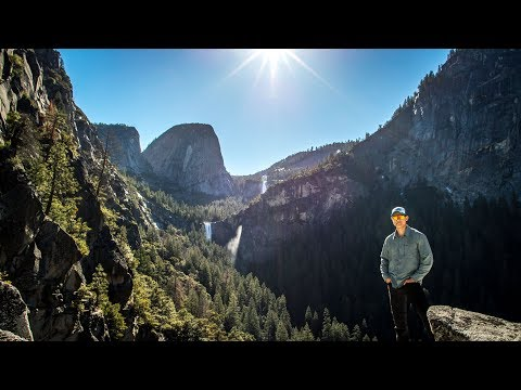 Hiking a Forgotten Trail to Sierra Point, Yosemite National Park