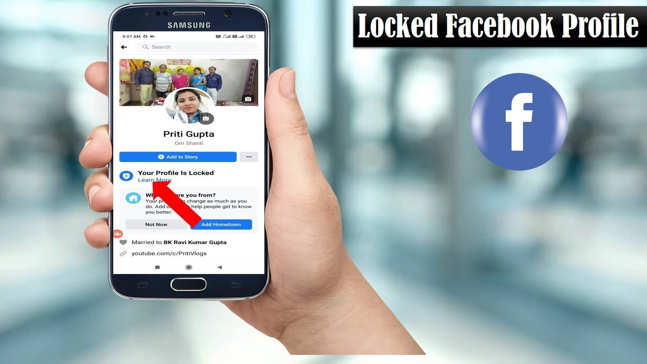 Locked My Facebook Profile How To Locked Facebook Profile 2020 Fac Facebook Profile My Facebook Profile Youtube