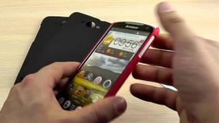 ОБЗОР: Шикарный Пластиковый Чехол-Накладка для Lenovo IdeaPhone S930