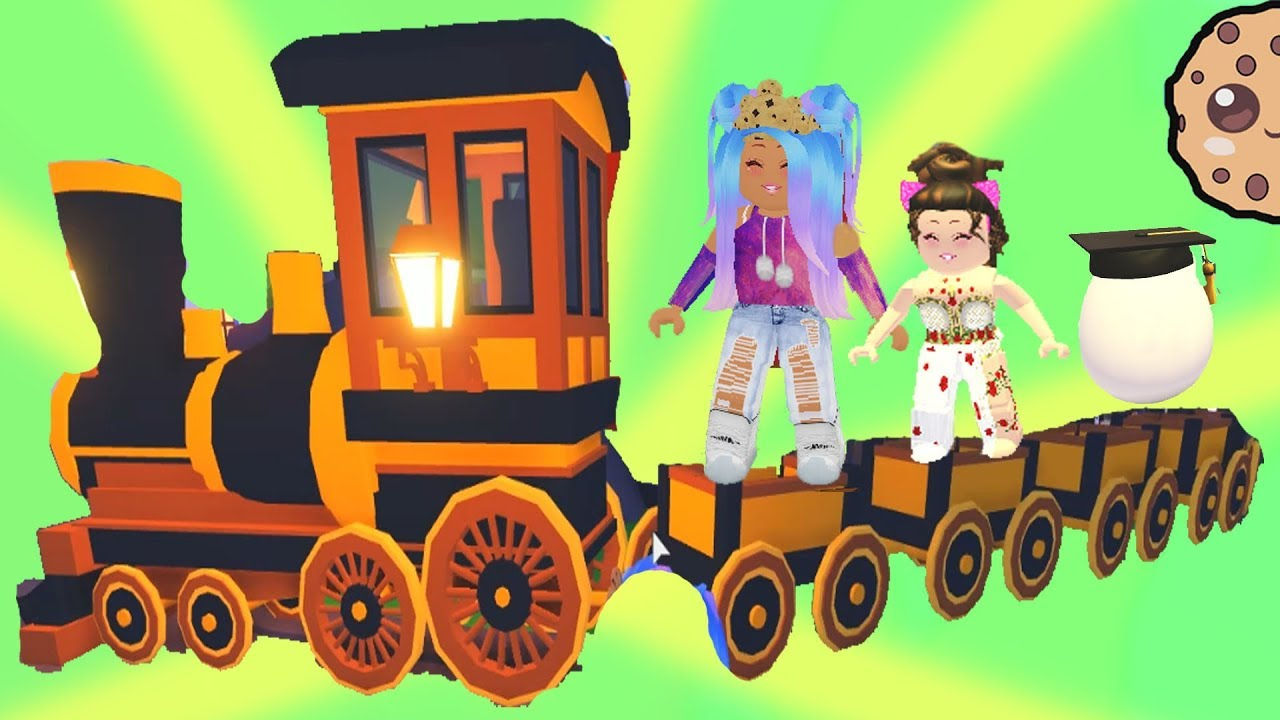 Cookie Swirl C Roblox Avatar 2020 The New Legendary Train Adopt Me Random Roblox Story Roleplay Video Youtube