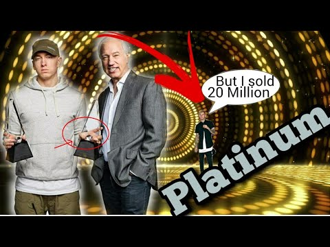 EMINEM Goes Platinum! MGK 20 Million? (Diamond/Gold Albums What Is It?)
