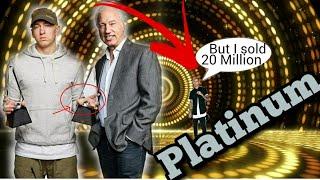 EMINEM Goes Platinum! MGK 20 million? (Diamond/Gold Albums what is it?)