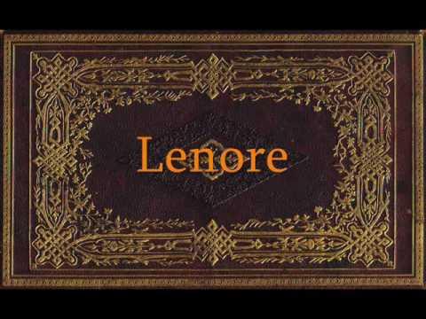 Edgar Allan Poe   Lenore