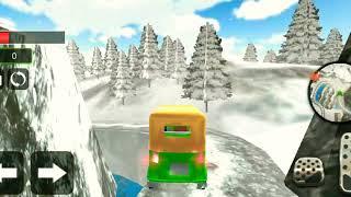 Tuk Tuk Driver Offroad Drive:Transport Passenger Android Gameplay screenshot 2