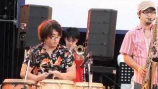 10'8/8 NAGOYA GROOVIN'SUMMER 2010 名古屋栄オアシス21にて.