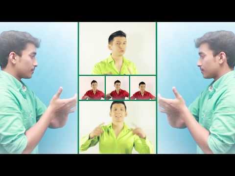 Russian guy singing Indian song -Goro Ki Na kalon ki, Neele Neele Ambar par, Pappa kahatheha cover