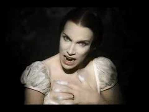 youtube love song for a vampire: