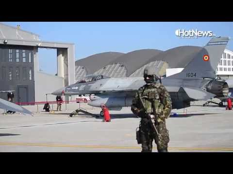 The first F 16s that entered service in the Romanian Air Force