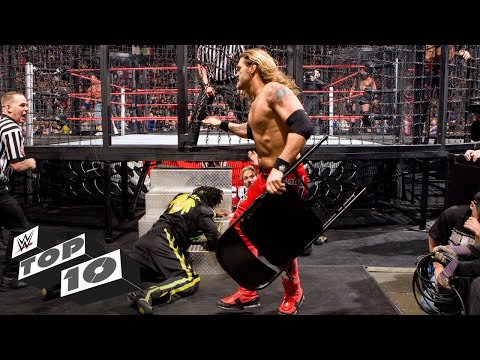 Shocking Elimination Chamber Match moments: WWE Top 10, Feb. 9, 2019