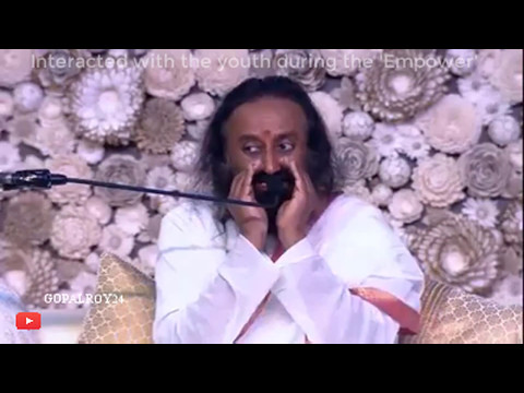 Sri Sri Ravi Shankar - 1920p । Interacted with the youth during the 'Empower