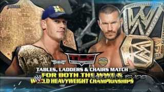 WWE TLC (Tables, Ladders and Chairs) 2013 Match Card - John Cena vs. Randy Orton [HD]