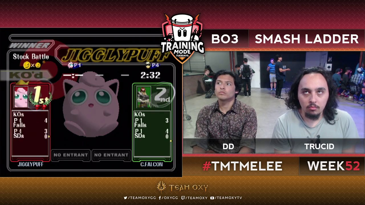Tmt 52 Dd Puff Vs Trucid Falcon Ssbm Smash Ladder Melee Youtube Tingle makes a cameo as part of the great bay stage. youtube