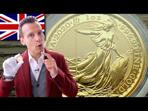 1 Unze Gold Britannia 2020 - Die älteste Anlagemünze Europas