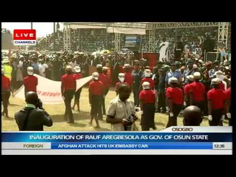 Inauguration Of Rauf Aregbesola As Governor Of Osun State Part 3