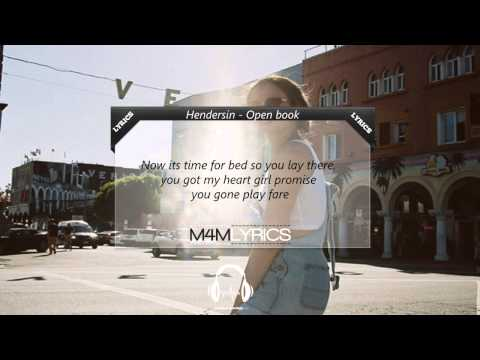 Hendersin - Open Book | Lyrics