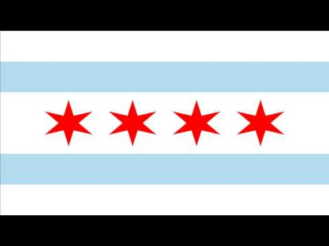 Chicago -  Illinois ( Flag )