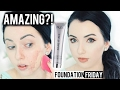 NEW PUR COSMETICS BARE IT ALL FOUNDATION  Acne/Pale Skin {First Impression Review & Demo!}