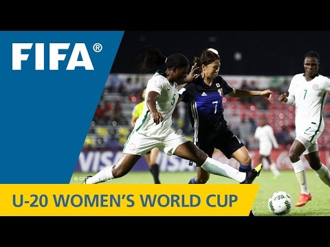 MATCH 4: JAPAN v NIGERIA - FIFA Women's U20 Papua New Guinea 2016