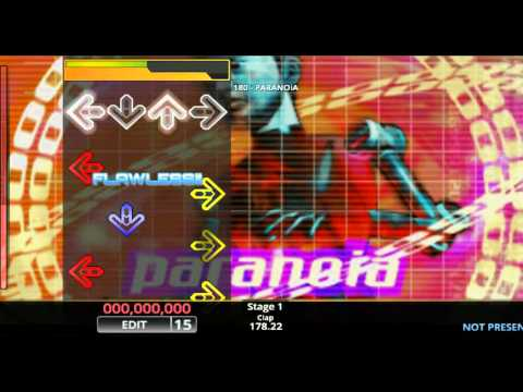 [DDR EDIT] PARANOiA / 180 (Lv. 15)