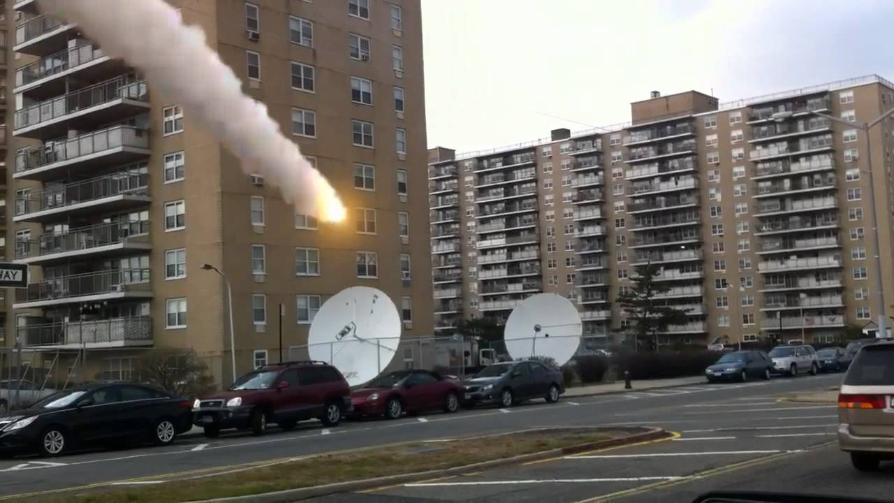 Building Blowing Up : Blow up the apartment building satellite dish youtube
