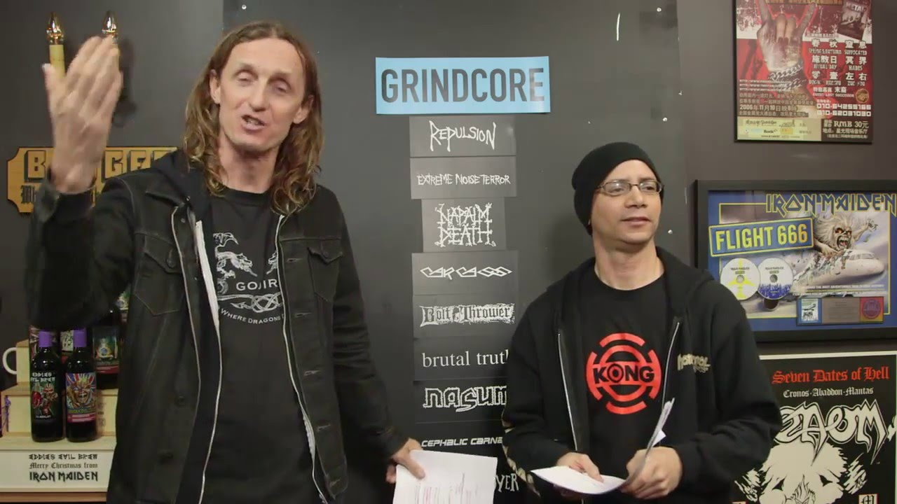 GRINDCORE band debate with Kevin Stewart-Panko | LOCK HORNS episode thumbnail