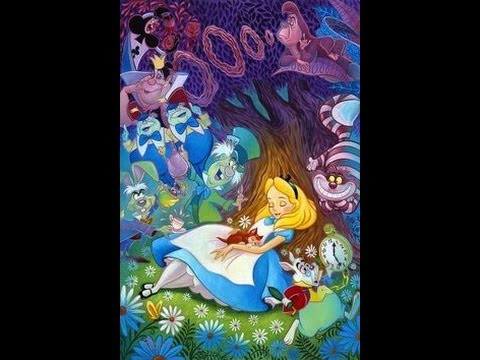 Happy Birthday Song With Alice In Wonderland Youtube