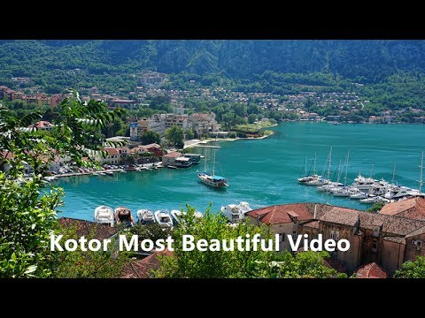 Kotor Most Beautiful Video Montenegro