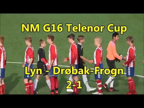 NM G16 Telenor Cup: Lyn - Drøbak-Frogn 2-1 (1-0) SAMMENDRAG