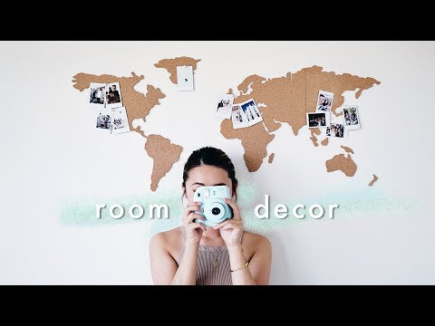 Decorate With Me | Travel Memories Room Decor 🌎