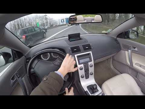Volvo C70 2.0D D4 (2011) - POV Drive