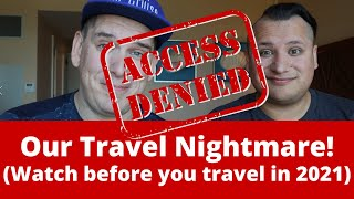 Cruise News - People Denied Boarding to Bahamas for Cruising - Our Travel to Nassau 2021