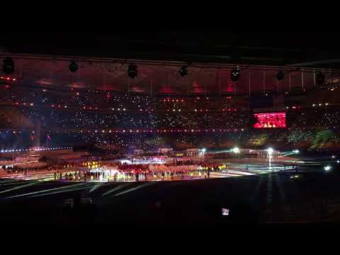 Yuna - Terukir Di Bintang (Closing ceremony ASEAN Para Games 2017)