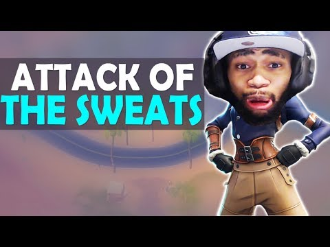 THE SWEATS ARE ATTACKING | DAEQUAN DANCING | I NEED MATS- (Fortnite Battle Royale)